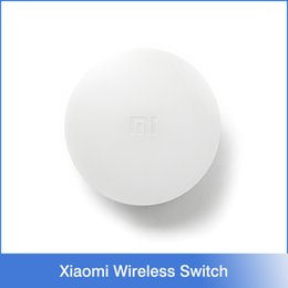 Wholesale Smart Home Device Accessories Xiaomi Wireless Switch House Control Center Intelligent Multifunction White Switch