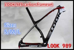 Wholesale In May MTB style look s carbon Frameset Made in China full carbon bike frames K bicycle frameset
