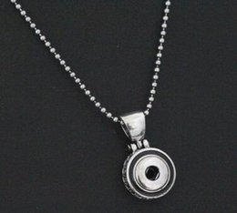 new arrival DIY snap button 12mm Alloy circle Pendant necklace 12MM NOOSA chunks snap button jewelry scorpion with rhinestone drop shipping