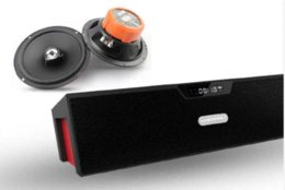 Acheter en ligne Boîte de haut-parleur de radio-Haut-parleur Bluetooth HIFI SDY-019 d'origine Sardine sans fil haut-parleur portable 10w USB Amplificateur stéréo Sound Box avec Radio FM mic