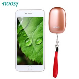 Wholesale-NEW ARRIVAL!!!NOOSY NS08 App Phone Portable Bluetooth 4.0 Dual SIM Adapter Camera Shutter Function for iPhone with High Capacity