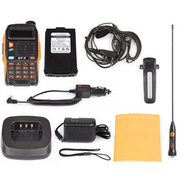 Wholesale Baofeng GT MarkII Dual Band M cm MHz Ham Walkie Talkie Programming Cable CD Software Two Way Radio