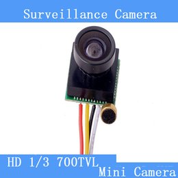 Mini surveillance camera 5MP HD 700TVL 170 degree wide-angle camera FPV model aircraft, toys, home security pinhole camera
