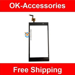 Wholesale Black Color For Micromax A104 Canvas Fire SmartPhone Touch Screen Digitizer Touch Sensor Glass Panel PC