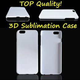 DIY 3D Sublimation Case Full Area Printable White Blank Glossy Matte Cover For Iphone 5S 6 6S Plus Samsung S6 S7 Edge Note 3 4 5 TOP Quality