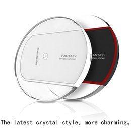 Wholesale In the new general gas wireless charger for Android mobile phone charger line and crystal samsung mobile phones nokia Lg wireless char