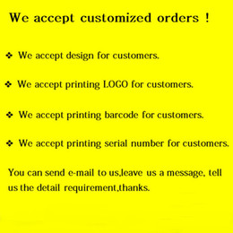 Custom Label Sticker ! We Accept All Kind Of Label Sticker logo Text Serial Numbers Transparent PVC Sealing Sticker