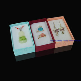 12pcs Mixed Color Multi-fuction Paper Gift Jewelry Box for Display Ring Pendant Earrings Holder Case 5*8*2.5CM