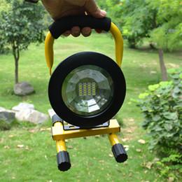 Wholesale Waterproof IP65 SMD3528 LED models W Spotlights LED Flood Light Portable Rechargeable LED Outdoor Emergency Light Work