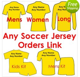 Wholesale Thai quality Soccer Jersey Every Shirts Woman Shirts Sets Jackets Sweater Kids Long pants Tracksuit Sets