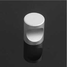 2016 new Matt aluminum alloy drawer knobs cabinet kitchen pull furniture hardware single knob furniture accessories #192