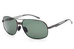 Sunglasses For Men Fashion Mirror Sun Glasses polarized Sunglases High Quality Al-Mg Foot Polar Sunglass Luxury Designer Sunglasses 1L6A9