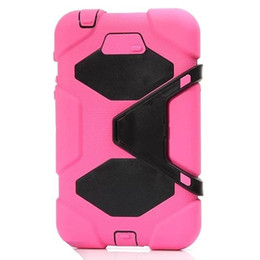 For Samsung Galaxy P3200 7inch Tablet Military Extreme Heavy Duty Shockproof CASE With Screen Protector Kickstand Stand Cover 10Color