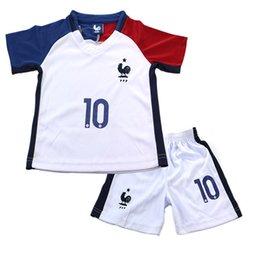 Wholesale New European Cup Children s Football Suit Jerseys Shirt Kits Jerseys Set Children Clothes Casual Sportswear