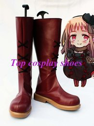 Wholesale Freeshipping custom made anime APH Axis Powers Hetalia Russia Cosplay Boots shoes female ver of Halloween Christmas festival