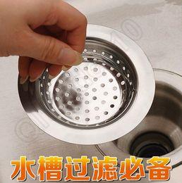 Wholesale 300PCS LLA115 Kitchen Sink Mesh Strainer Basin Drain Garbage Disposal Waste Washing Leach Stainless Steel Plug Stopper