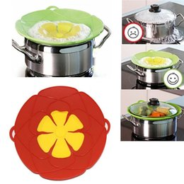 Wholesale Spill Cover Guard Lid Stopper Pan Kitchen Cooking Tool Boil Pot Hot Utensil Gift New Brand