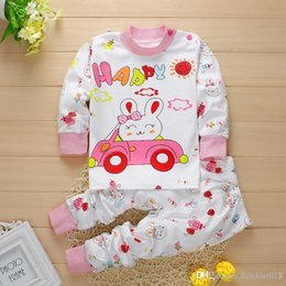The new spring 2016 cartoon children underwear set o-neck cotton baby boy and girl in children's clothing.