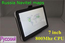 Wholesale navigator for windows Cheapest inch auto GPS navigation DDR MB Navitel maps for Russia Belarus Kazakhstan FM