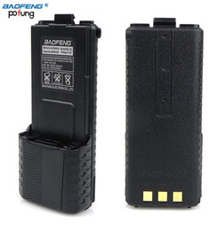 Wholesale BaoFeng mAh Li ion Battery High Capacity Big Spare Battery For UV R UV5R BF UV5R Walkie Talkie UV R