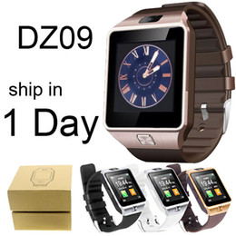 Wholesale DZ09 Smart Watches With HD Display Support Music Player Phone Calling Sedentary Reminder DHL Free OTH110