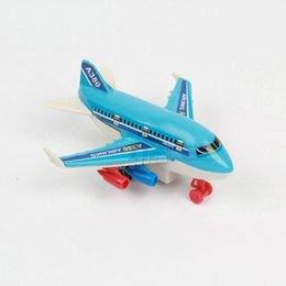 Wholesale New Hot Sale Children s Toys Mini Pull Back Airplane Simulation Model Boy Toy Birthday Gift Educational Toys