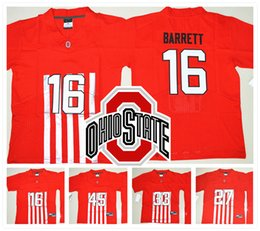 Wholesale Stitched LIMITED NCAA Ohio State Buckeyes College Joey Bosa BARRETT Griffin Football Johnson George Jersey Cheap
