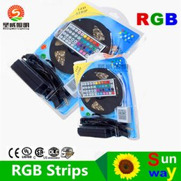 Wholesale Best Price CE RoHs Flexible Led Strip Light Stripe RGB SMD Leds m Waterproof Keys IR Remote Controller Power Adapter