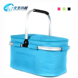 Wholesale small l carphone stack portable picnic basket passive car refrigerator dual car fridge ice chest