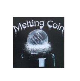 Coin Magic Melting coin - Trick, card magic,magic tricks,props comedy,mental magic