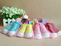 Wholesale 0 M Baby D Socks Anti Slip Baby Shoe Socks Girls Boys Slipper Socks Patucos De Bebe Recien Nacido Calzini Neonato Meia Bebe