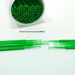 Wholesale Microbrush Microfiber Wands Applicators for Eyelash Extension Removal barrels support on behalf of the delivery