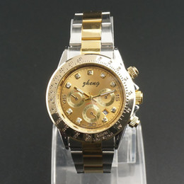 Wholesale Cheap Stainless Gold Watch - gold Role express Luxury Classic brand men watches by stainless steel with cheap price have more colors