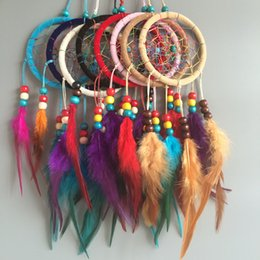 Wholesale 9cm DIA Dream Catcher Decor Car and Home Decoration Birthday Party Gifts Lace Flower Handmade DIY Jewelry Gift FreeShipping