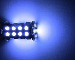 Wholesale 2pcs CANBus P21W Base Type Red White LED SMD5050 LED Car LED Reverse Lights