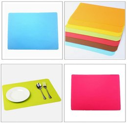 Wholesale Multi Colors x30cm Silicone Mats Baking Liner Best Silicone Oven Mat Heat Insulation Pad Bakeware Kid Table Mat
