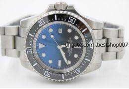 Wholesale Luxury WATCH Men s MENS SEA DWELLER DEEP Ceramic Bezel mm SEA Stanless Steel Clasp Year UNWORN Automatic High Quality Watches