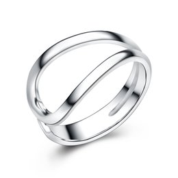 Wholesale stamped s925 silver new model ring without stones plain design jewellery handmade silver jewelry manufacture cheap prices