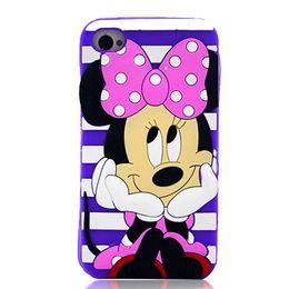 Wholesale Cute Cartoon Stitch Sulley Minnie Mouse D Silicon Cover Case for Samsung Galaxy Trend Plus S7580 A3 A5 J510 J5 J7 E5