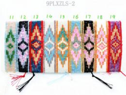 Wholesale Friendship Bracelet Hippy Handmade PLXZLS Beaded Charm Friendship Bracelet Evil Eye Bracelets For Women Men