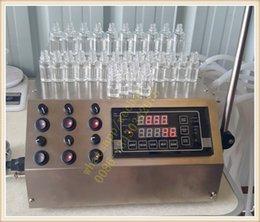 Wholesale 2016 peristaltic pump filling machine ml min with heads liquid filler for acids solvents perfumes e cigarette oil