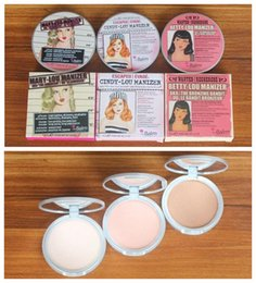 Wholesale 8 g Makeup Betty Lou Manizer Cindy Lou Manizer Mary Lou Manizer Bronzers Highlighter Pressed Powder Brand Make Up