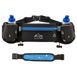 Wholesale Hydration Running Belt With Water Bottles Best Recommended Running Fuel Belt For Men And Women Perfect for Marathons Hiking Pockets Fit