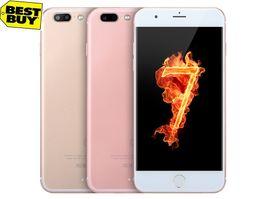 Wholesale 3G I7 phone fake G Metal frame quadcore A Goophone i7 plus fake MTK6595 Octa core GB Ram GB Rom Real FHD Smart Cell phone