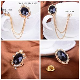 Male Korean collar collar pin brooch upscale fringed sweater broocch brooch Ms. badge jewelry wholesale unisex