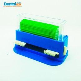 Wholesale Packed brush applicator stick adhesive applicator stick Dental Equipment Cayao small hand brush cassette paperback