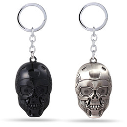 MS Jewelry The Terminator Key Chain Terminator Genisys Key Rings For Gift Chaveiro Car Keychain Movie Key Holder Souvenir