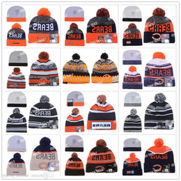 Wholesale football Chicago Beanies Winter High Quality Bears Beanie For Men Women Skull Caps Skullies Camo Knit Cotton Hats