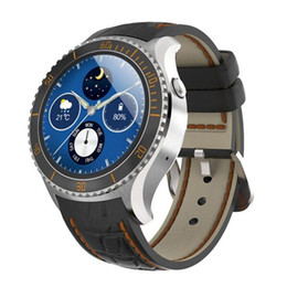 Wholesale 2016 HOT I2 Smart Watch MTK6580 Android OS Bluetooth Wristband With Wifi GPS G Smartwatch phone Google play store