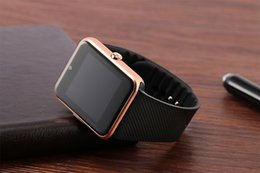 Wholesale Best seller GT08 Bluetooth Smart Watch wearable devices Support SIM TF Card Smartwatch For apple Android OS phone pk dz09 f69